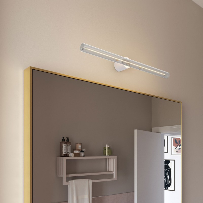 Esse14 wall or ceiling lamp holder with S14d fitting - Waterproof IP44