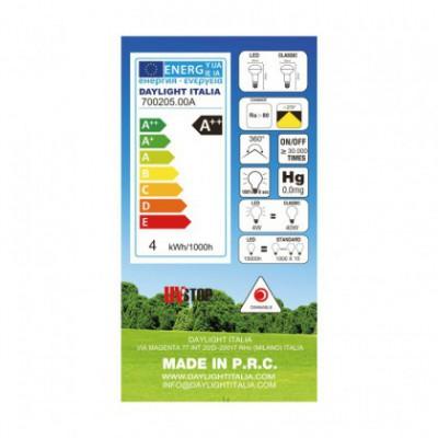 Bombilla LED R50 Satin 4W E14 Regulable 2700K