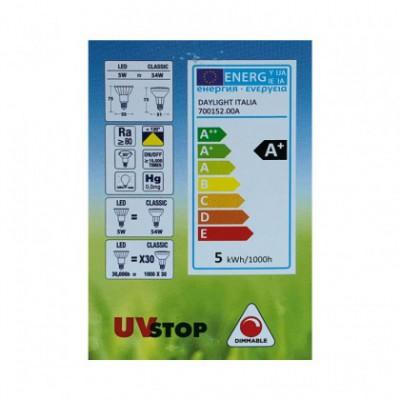 Bombilla de luz LED PAR16 de 5W E14 Regulable 2700K