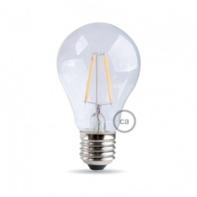 Light bulb filament Led Drop 7W E27 Clear 2700K