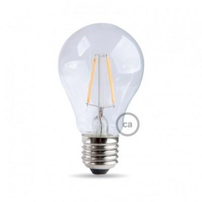 Light bulb filament Led Drop 7W E27 Clear Dimmable 2700K