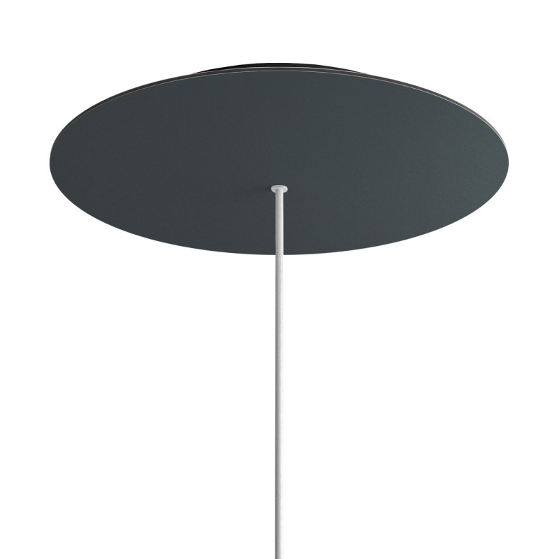 Round XXL Rose-One 1-hole and 4 side holes ceiling rose Kit, 400 mm
