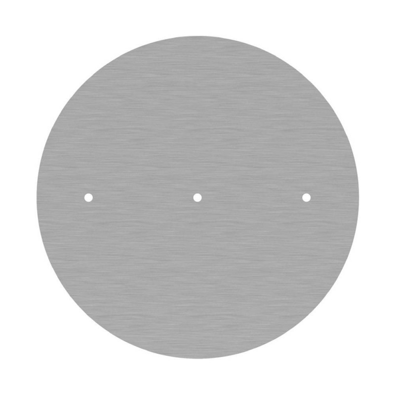 Round XXL Rose-One 3 in-line holes and 4 side holes ceiling rose Kit, 400 mm