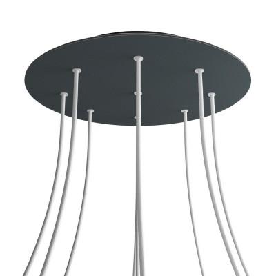 Kit rosetón XXL Rose-One redondo, diámetro 400 mm con 9 agujeros y 4 agujeros laterales