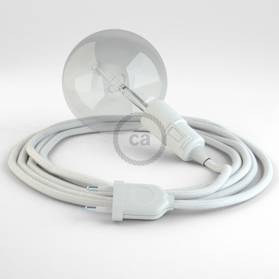 Create your RC01 White Cotton Snake and bring the light wherever you want.