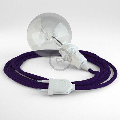 Create your RM14 Violet Rayon Snake for lampshade and bring the light wherever you want.