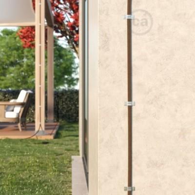 Accesorios de fijación de pared para guirnalda Lumet - paquete de 10