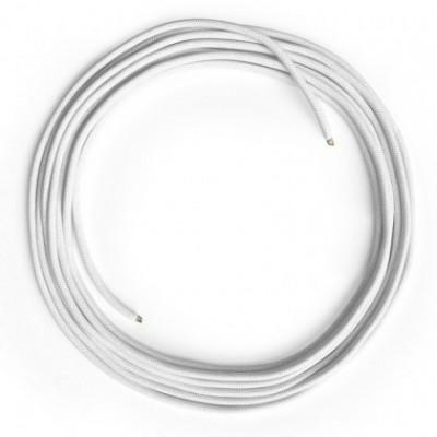 Cable Lan Ethernet Cat 5e sin conectores RJ45 - RC01 Algodón Blanco