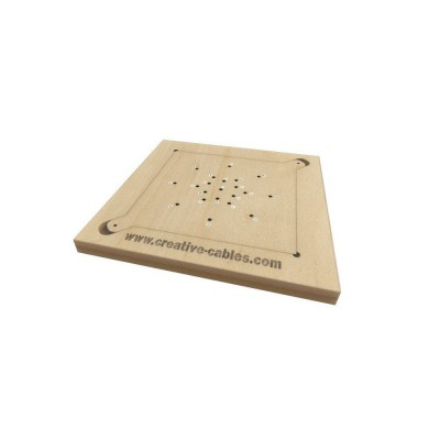 Wooden template for drilling Rose-One covers
