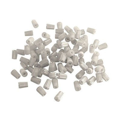 Transparent plastic cable clamps for Rose-One, 100 pcs