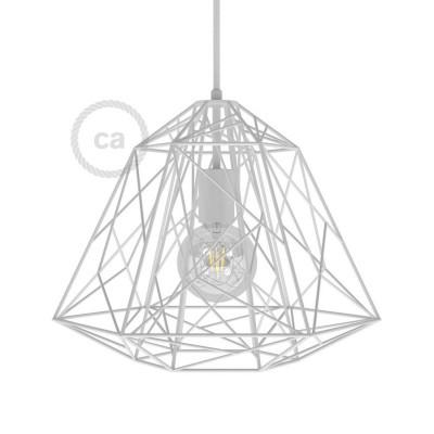 Pantalla Jaula para lámpara Apollo XL de metal con portalámparas E27