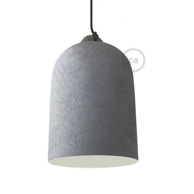 Campana, pantalla XL de cerámica para suspensión - Fabricado en Italia