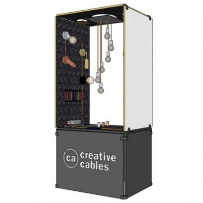 Creative-Box Ver. 1 - Elegance, standalone in-shop display including order configurator
