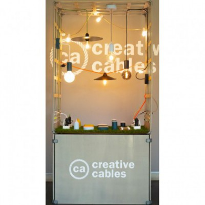 Creative-Box Ver. 2 - Outdoor, standalone in-shop display including order configurator