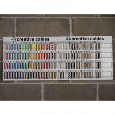 Counter-top or wall cable display