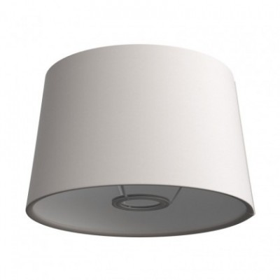 Pantalla Athena con casquillo E27 para lámpara de mesa - Made in Italy