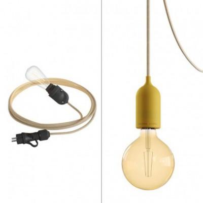 Duo Eiva System outdoor kit: Snake Eiva handlamp and Eiva Pastel pendant lamp