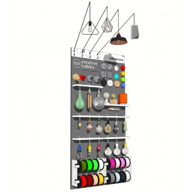 Corner Classic 120 cm, ready-to-use retail display wall-unit - Free with a 3.500 € order