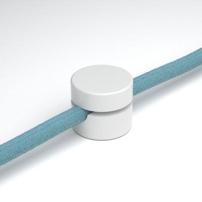 Prensaestopas universal para fijación a pared para cable textil