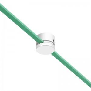 Pasacables madera Filé System para cable textil guirnalda. Fabricado en Italia